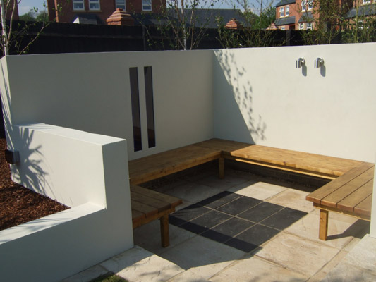 Contemporary Garden Snug, Nottingham.