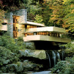 "Frank Lloyd Wright's ""Falling Water"""